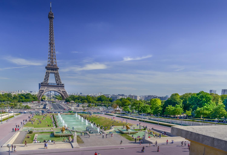 Eiffeltoren voor bewerking